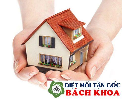 kiểm soát mối ngôi nhà bạn