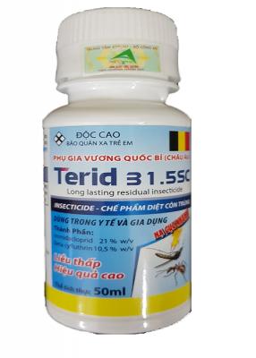 Terid 31.5SC - Thuốc diệt rệp, ruồi, muỗi, gián , kiến của Bỉ